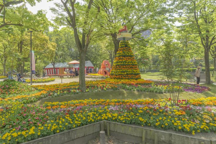 高松フラワーフェスティバルの花