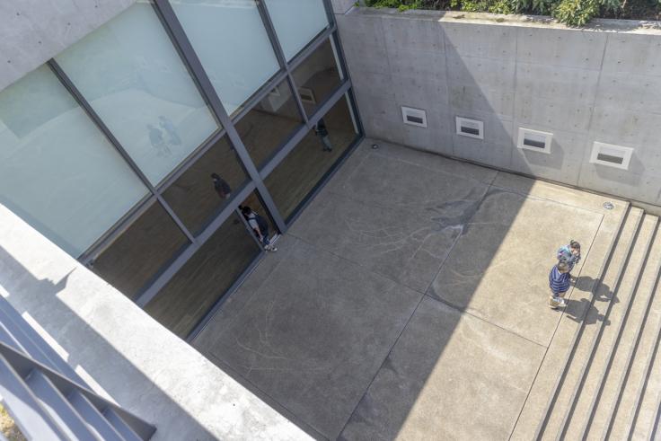 「ベネッセハウス ミュージアム外