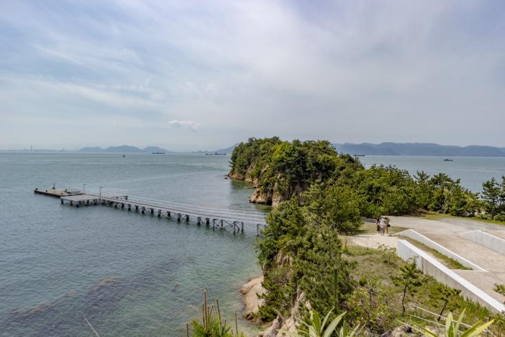 シーサイドギャラリーの桟橋