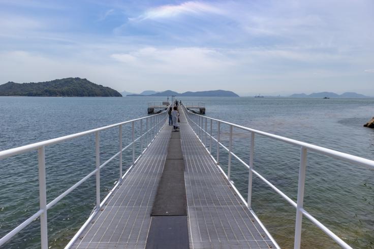 シーサイドギャラリーの桟橋2