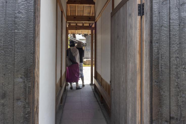 「碁会所」須田悦弘