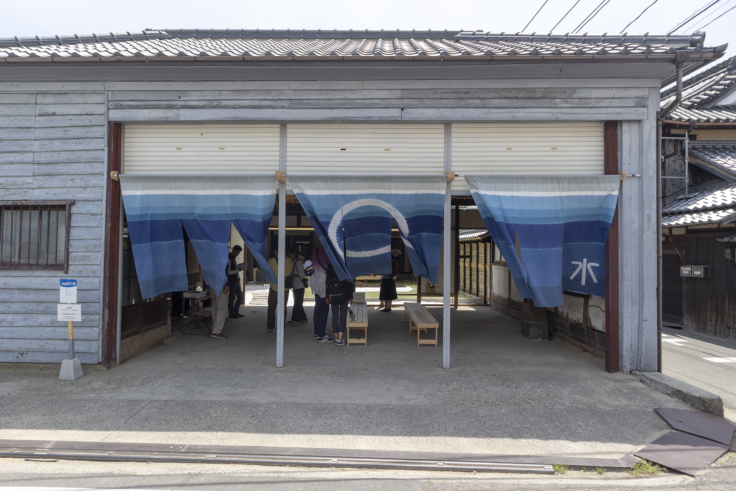 『The Naoshima Plan 2019 「水」』三分一博志入り口