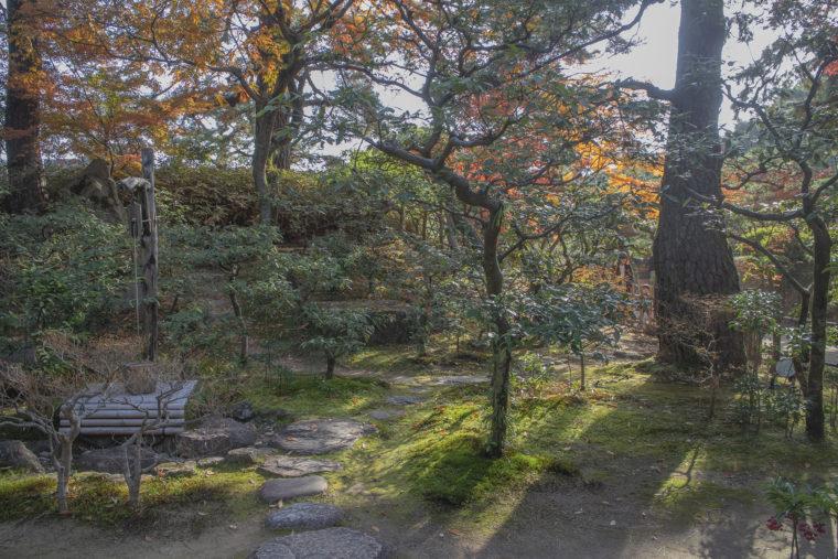 日暮亭の庭