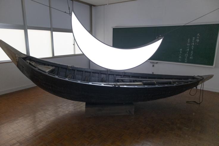 月の舟 柿本人麻呂に捧ぐ
