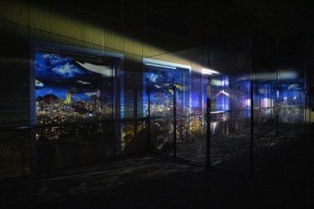 香川県庁21階プロジェクションマッピング3