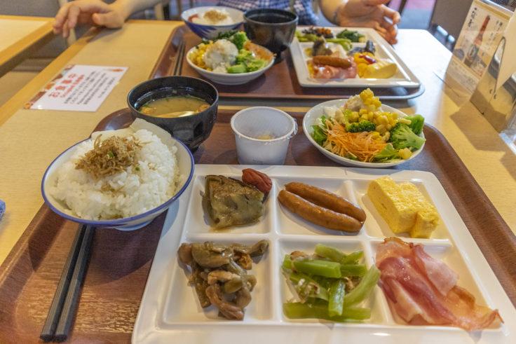 ホテル平安の森京都の朝食バイキング