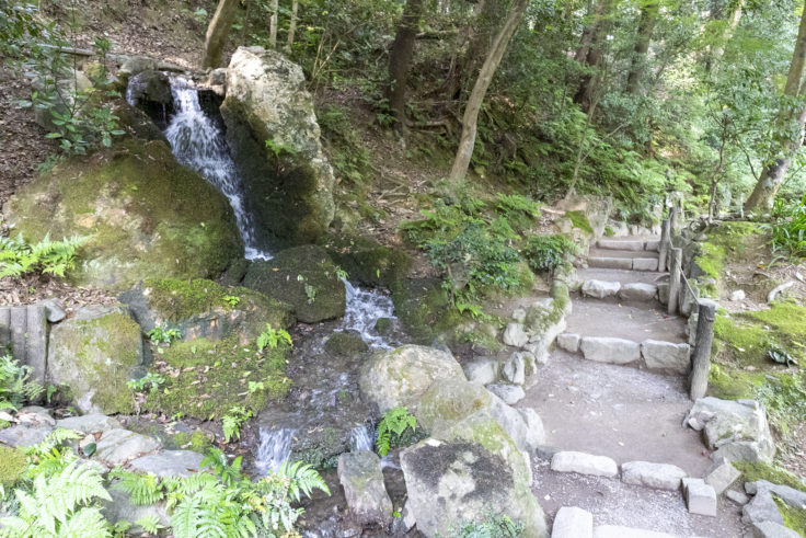 南禅院庭園の滝