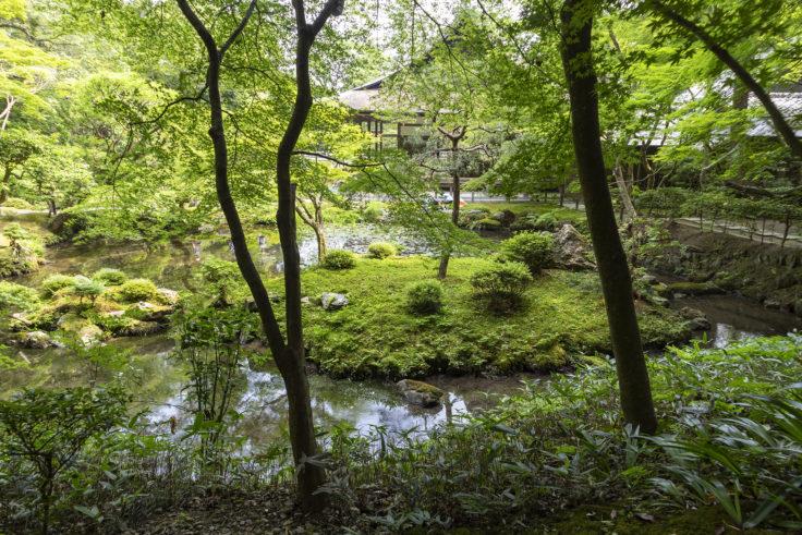南禅院池泉回遊式庭園