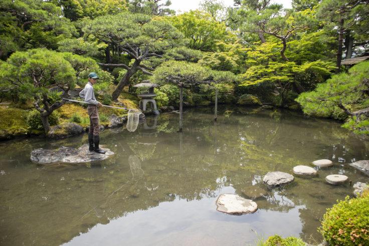 白河院庭園