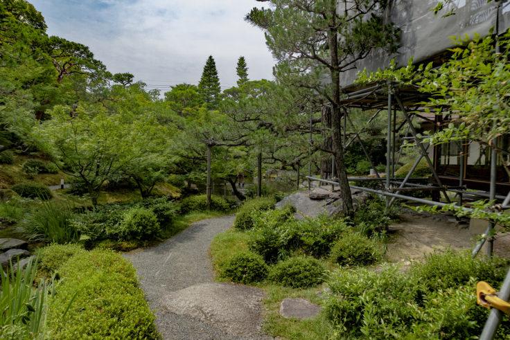 白河院庭園2