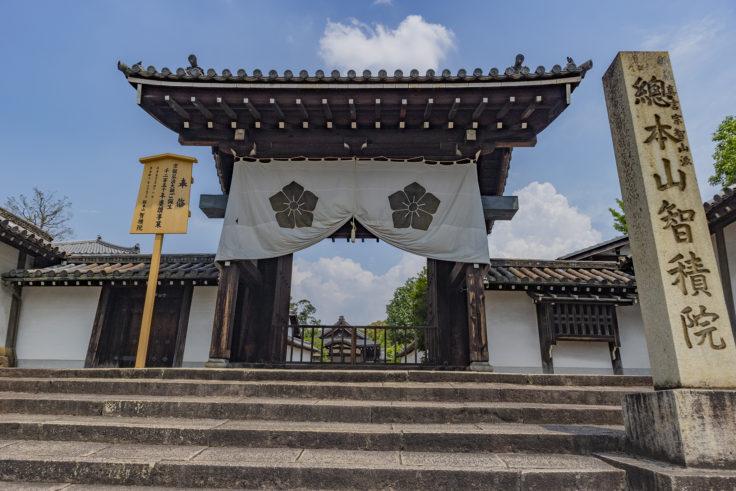 智積院の門