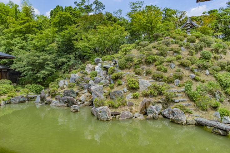 智積院庭園2