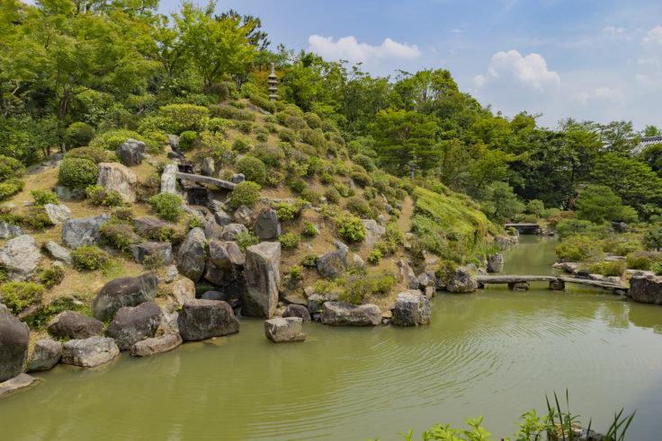 智積院庭園5