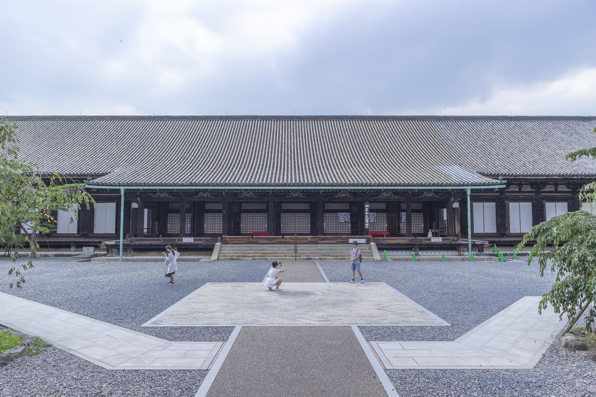蓮華王院「三十三間堂」の木像1032体に感動!
