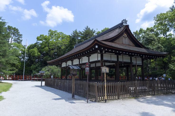 上賀茂神社馬場殿