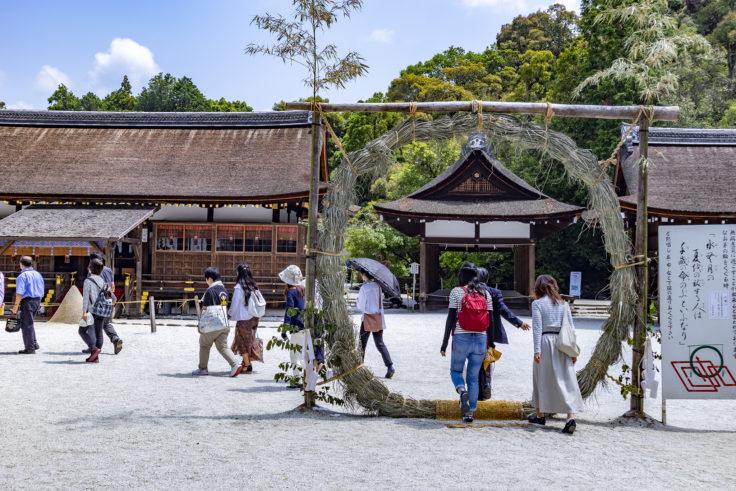 上賀茂神社茅の輪