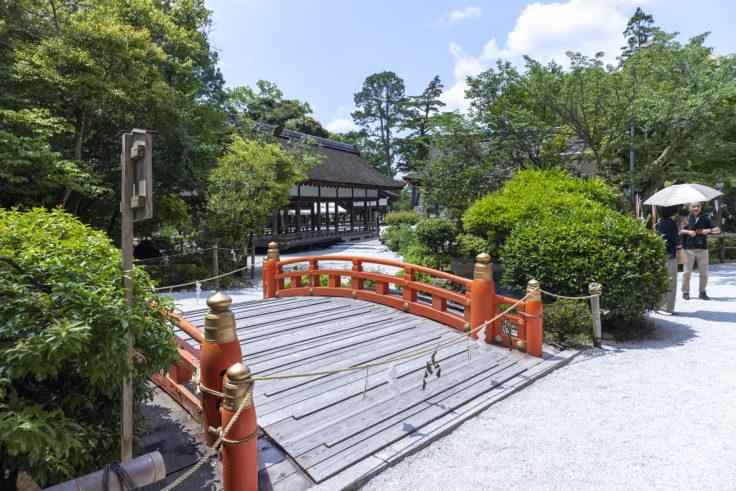 上賀茂神社玉橋