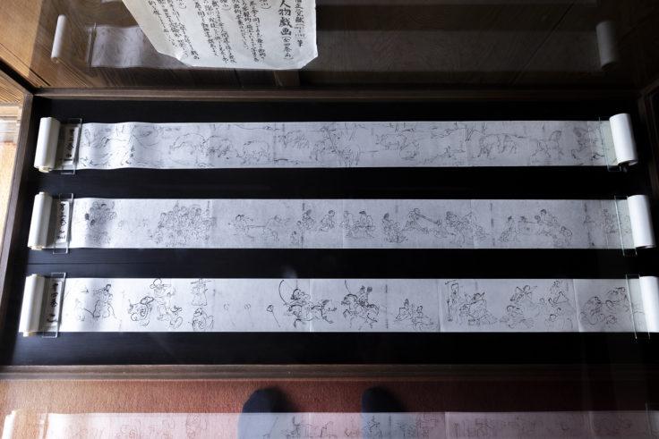 高山寺の鳥獣戯画ミニ