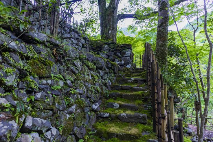 高山寺石段