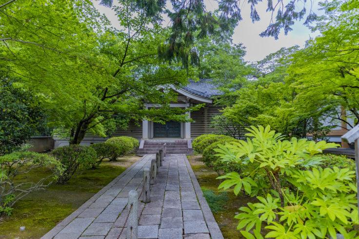 広隆寺旧霊宝殿