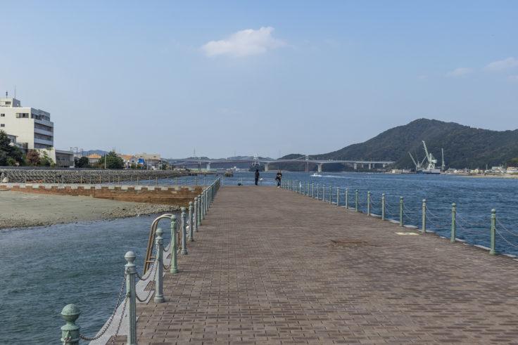 岡崎海岸の突堤3