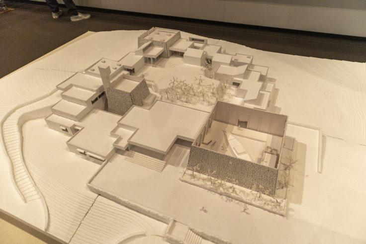瀬戸内海歴史民俗博物館の模型