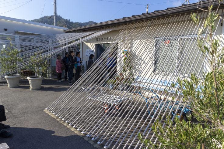 『須田港待合所プロジェクト「みなとのロープハウス」』山田紗子
