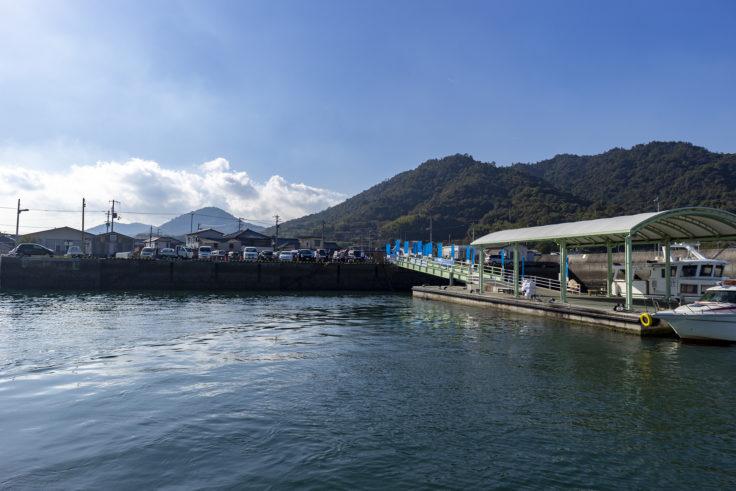 粟島への高速船2