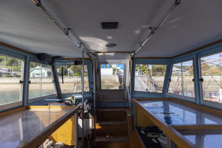 「瀬戸内海底探査船美術館プロジェクト」日比野克彦「昨日丸」船内