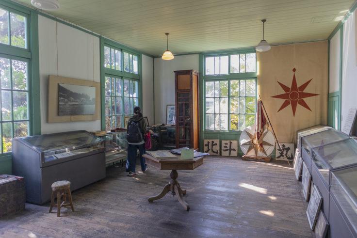 粟島歴史資料館展示