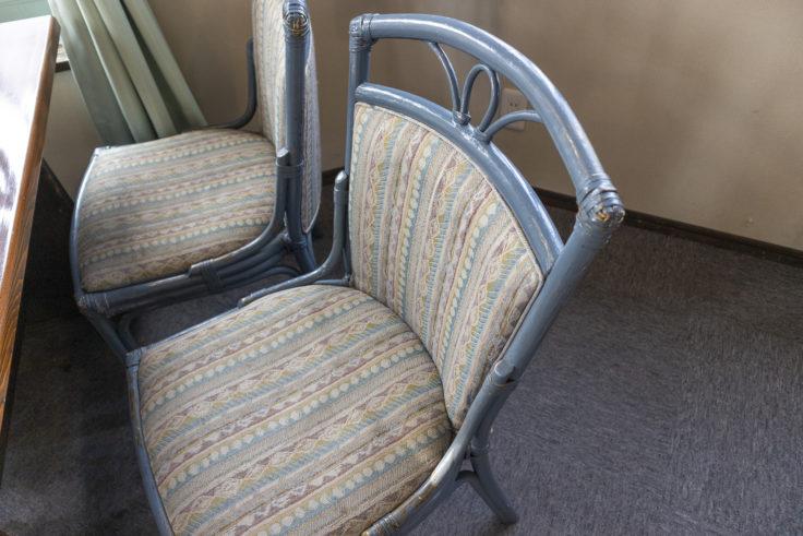 寫眞館の珈琲の椅子