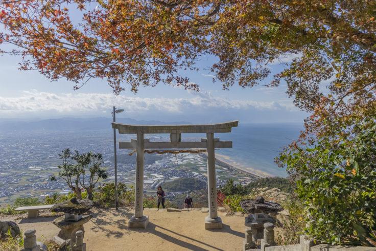 天空の社「高屋神社」から見た景色