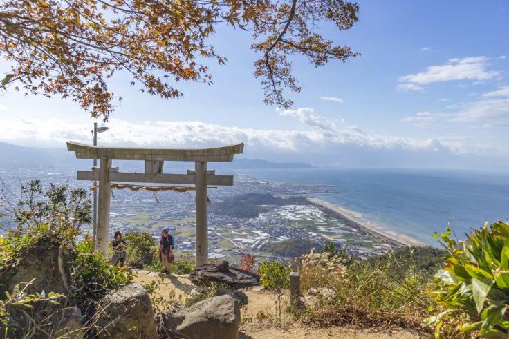 天空の社「高屋神社」から見た景色3