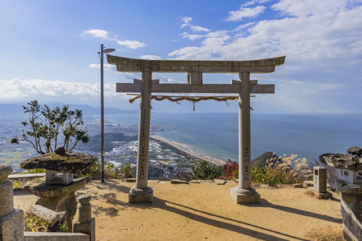 天空の社「高屋神社」から見た景色5