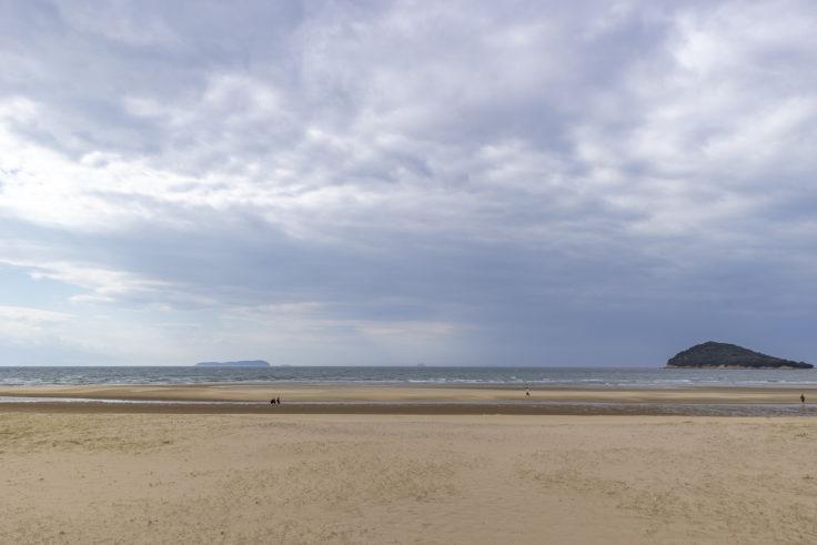 父母ヶ浜遠景