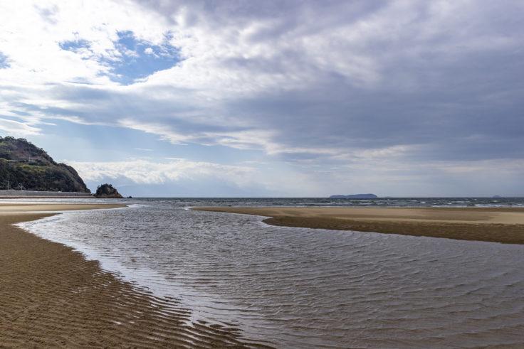 父母ヶ浜の海水2