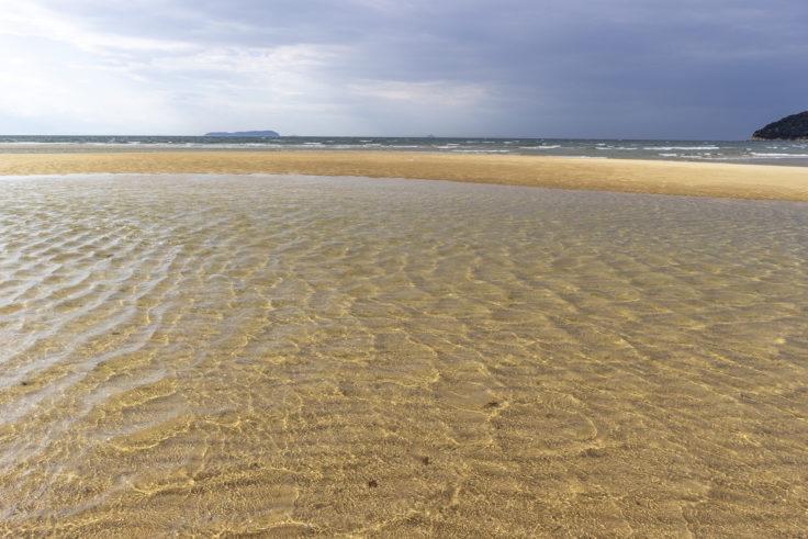 父母ヶ浜の海水