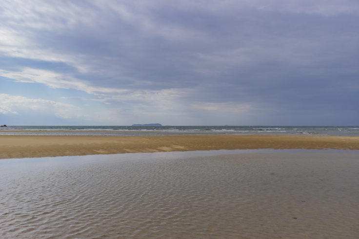父母ヶ浜の海水3