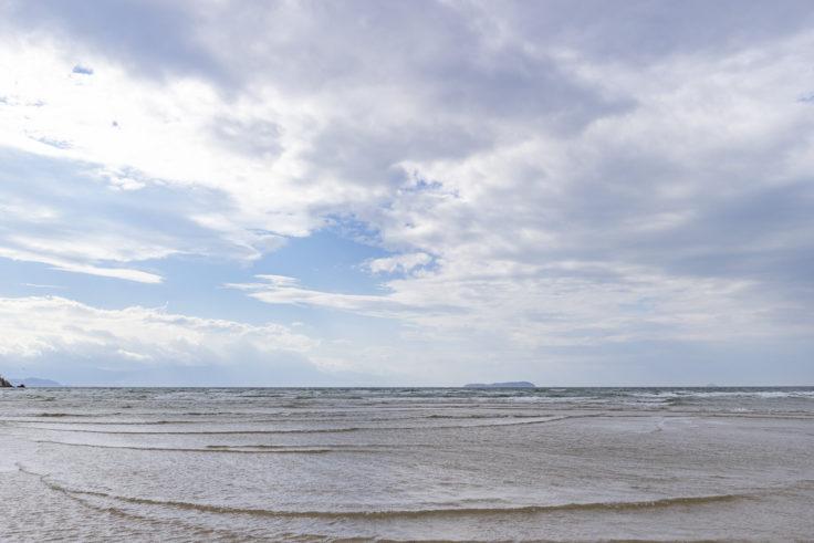 父母ヶ浜の海水7