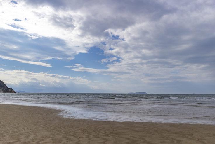父母ヶ浜の海水6