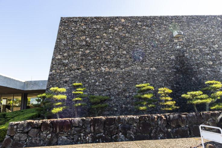 瀬戸内海歴史民俗博物館石垣