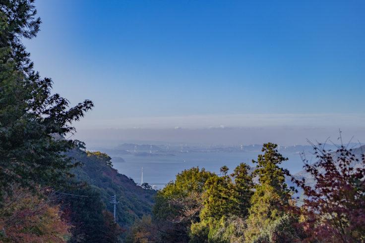 白峯寺から見た瀬戸内海