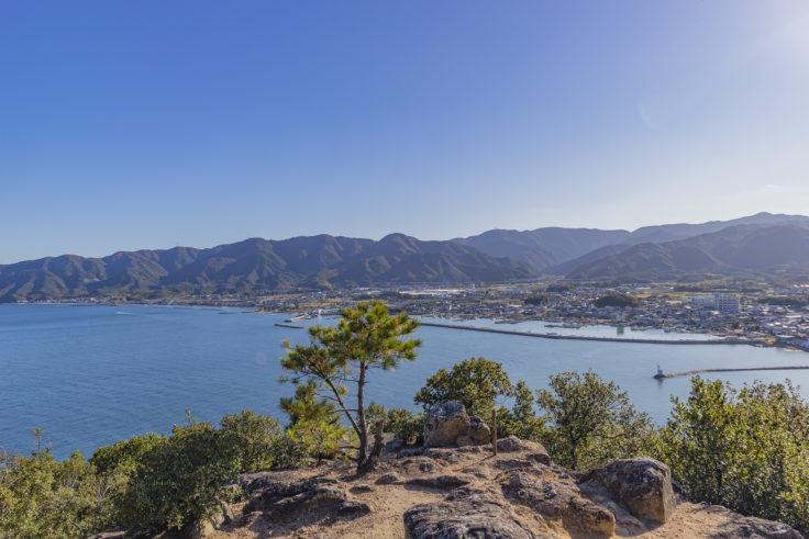 城山展望台からの眺め2