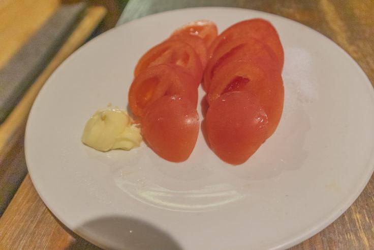 てんとうむしのトマトスライス