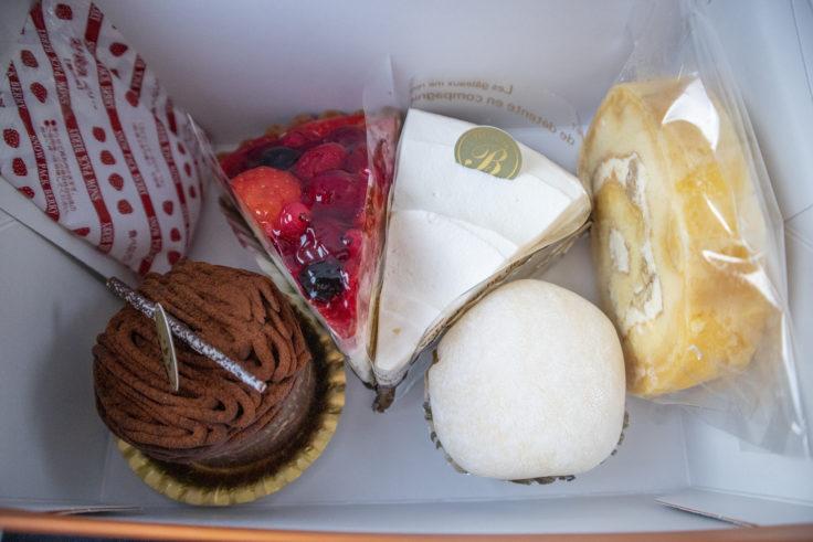 ブランのショートケーキ