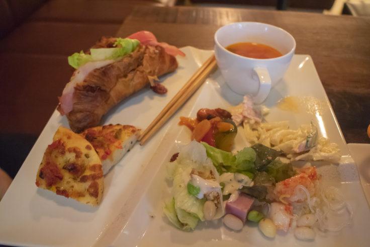 サクラテラス・ザ・アトリエの朝ご飯2