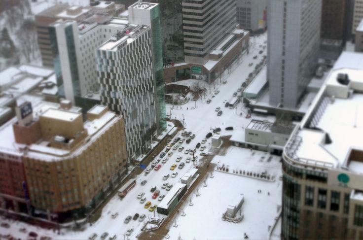 札幌ジオラマ