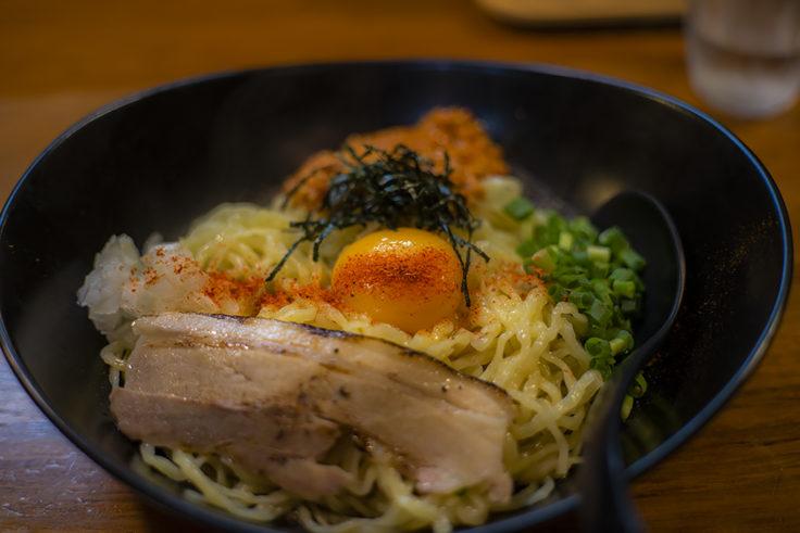 麺屋軌跡の台湾風塩ラーメン