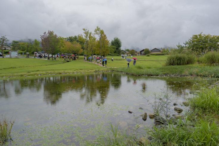 安曇野ちひろ公園パツォウスカーの庭と美術館