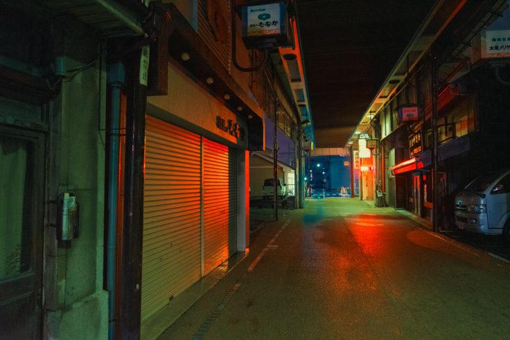 坂出市のアーケード商店街2